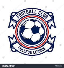 Football Emblem Design Soccer Football Emblems Design Element Logo Stock Vector