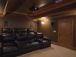 basement home theater. Interesting Home Suwanee Client Finished Their Home Theater System With A Projector  Surround Receiver Inwall Speakers Streaming Movies And Music Added Control  Throughout Basement Home Theater