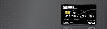 debit card platinum debit card kotak mahindra bank