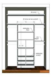 astounding standard closet depth photo 3 of 6 splendid standard closet dimensions standard depth linen closet