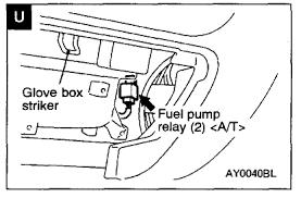 2000 mitsubishi mirage fuel pump wiring diagram wiring ai have a mitsubishi mirage intermitten fuel pressure loss have rh justanswer com 2000 mitsubishi mirage fuse diagram mirage 2000 horn wiring diagram
