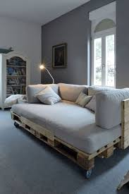 pallet bedroom furniture. A COZY PALLET DAY BED PERFECT FOR SMALL LIVING ROOM Pallet Bedroom Furniture P
