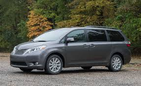 2017 Toyota Sienna AWD Test | Review | Car and Driver