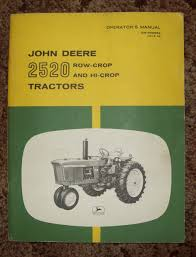 eric s machinery s repair john deere 2520