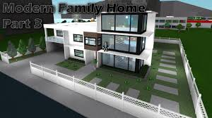 Lets Build: Bloxburg - Modern Family Home part 3