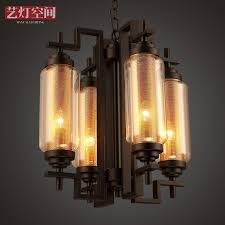 get ations american industrial wind chandelier vintage chandelier creative restaurant postmodern personality cafe club clear light glass chandelier