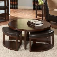 large size of living room round coffee table with seats luxury famous round coffee table