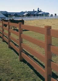 brown vinyl horse fence. Certagrain Big Rail - 4 Horse Fence Certa Blends: Avinylfence.com. \u2039 Brown Vinyl C