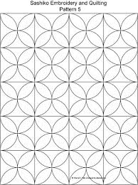 Sashiko Patterns Fascinating Free Sashiko Repeating Embroidery Patterns