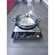 Bếp từ Smartcook 3872 chính hãng cao cấp - Bếp điện từ đơn Thương hiệu  Elmich