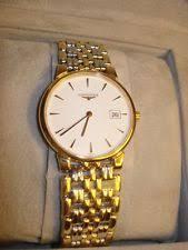 18k longines watch longines mens dress watch rare style 6 jewels l161 2 18k ss gold plate