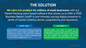 Free Business Report Card Business Report Card Inc Equitynet