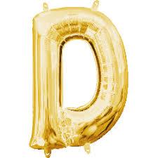 mini gold letter d balloon small gold letter d mylar balloon 8 356 300 c=2