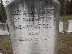 Adela Lawrence Keidel (1848-1920) - Find A Grave Memorial