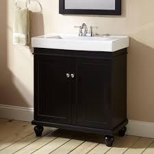 30 lander vanity cabinet black