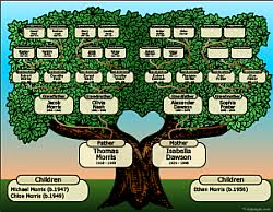 make a family tree online free family tree charts maker online tribalpages com
