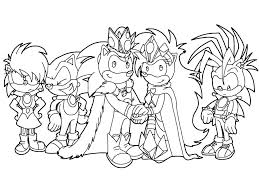 Shadow The Hedgehog Coloring Pages At Free Sonic To Print Page
