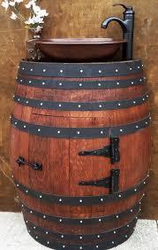 oak wine barrel barrels whiskey. Beautiful Wine Barrel Vanity 52 Diy French Oak Half Wine: Full Size Barrels Whiskey