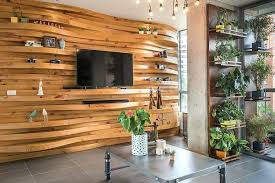 wooden accent wall wooden panel accent wall