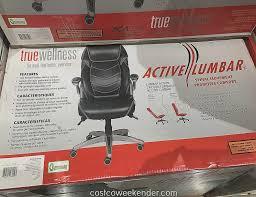 true innovations true wellness active lumbar chair costco