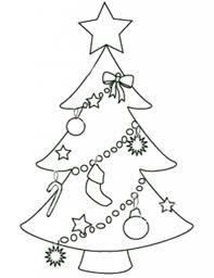 printable christmas tree templates tree or nts coloring page