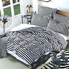 striped sheet set queen gray and white striped bedding photo 1 of black and white striped striped sheet set