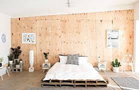 modern pallet furniture. Modern Platform Bed Made From Pallets - Freshome.com Pallet Furniture U