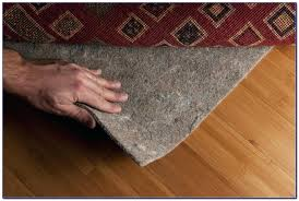 thick rug pads for hardwood floors 100 natural rubber pad non slip a