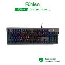 Bàn phím cơ Fuhlen Subverter RGB LED bàn phím cơ gaming giá rẻ chuyên dụng  cho game thủ - Bàn Phím Máy Tính