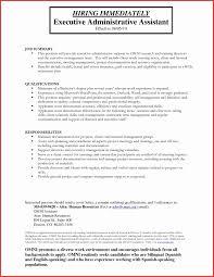 Sample Resume For Administrative Assistants New Sample Resume Applying For Administrative Assistant Presuel Co
