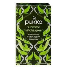 Pukka Organic <b>Supreme Matcha Green</b> Tea <b>20</b> Tea Bags - Holland ...
