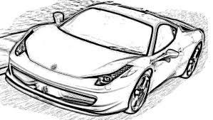 Small Picture Ferrari 458 Italia Coloring Page Coloring Page Ferrari