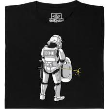 In The Shirt Stormtrooper In The Bathroom T Shirt Getdigital