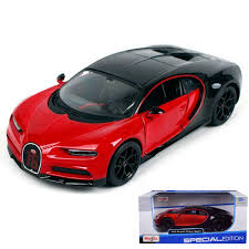 Click add to cart above to order now! Bugatti Chiron 42 Red Black 1 24 Scale Diecast Car Model By Maisto 31514