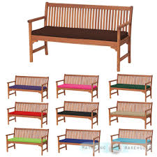 Outdoor Waterproof 3 Seater Bench Swing Seat Cushion ONLY Garden