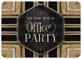 glitterati art deco office party invitation stylish glam office party invitation stylish glam office party invitation