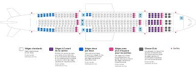Airbus A310 Seating Chart Air Transat Airbus A330 200 Air Transat