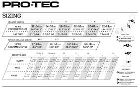 Pro Tec Helmet Size Chart Details About Pro Tec Classic Certified Skate Bmx Scooter Helmet Volcom Mag Vibes