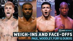 Jake Paul v Tyron Woodley Weigh-Ins and ...