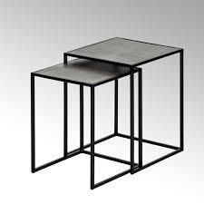 leggero side table set of two frame