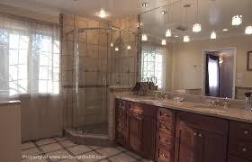 master bathroom corner showers. Custom Design Remodeling Master Bathroom Corner Shower Showers