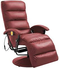 vidaXL <b>TV</b> Massage <b>Recliner</b> Living Room Massaging <b>Chair</b> ...