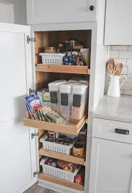 Pantry Cabinet: Used Pantry Cabinets With Kitchen Makeover
