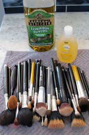to clean your makeup brushes