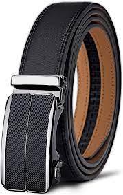 Men's Belt, Bulliant Slide Ratchet Belt For Men Dress Pant Shirt Genuine  Leather, Trim To Fit at Amazon Men's Clothing store