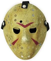 CASACLAUSI Jason Mask Cosplay <b>Halloween</b> Costume Mask <b>Prop</b>