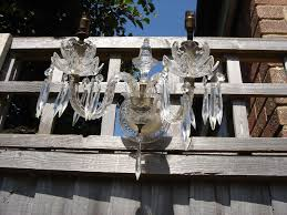 Crystal Chandelier Light Arms 2 Sconce Wall 97282hmes41664
