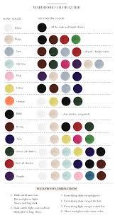 Paris To Go Wardrobe Color Guide