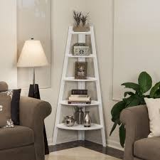 Contemporary Shelves danya b contemporary five shelf white bookcase spacesaving 6311 by xevi.us