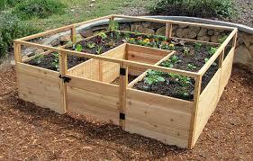 cedar raised bed cedar complete raised garden bed kit 8 x 8 aromatic red cedar raised